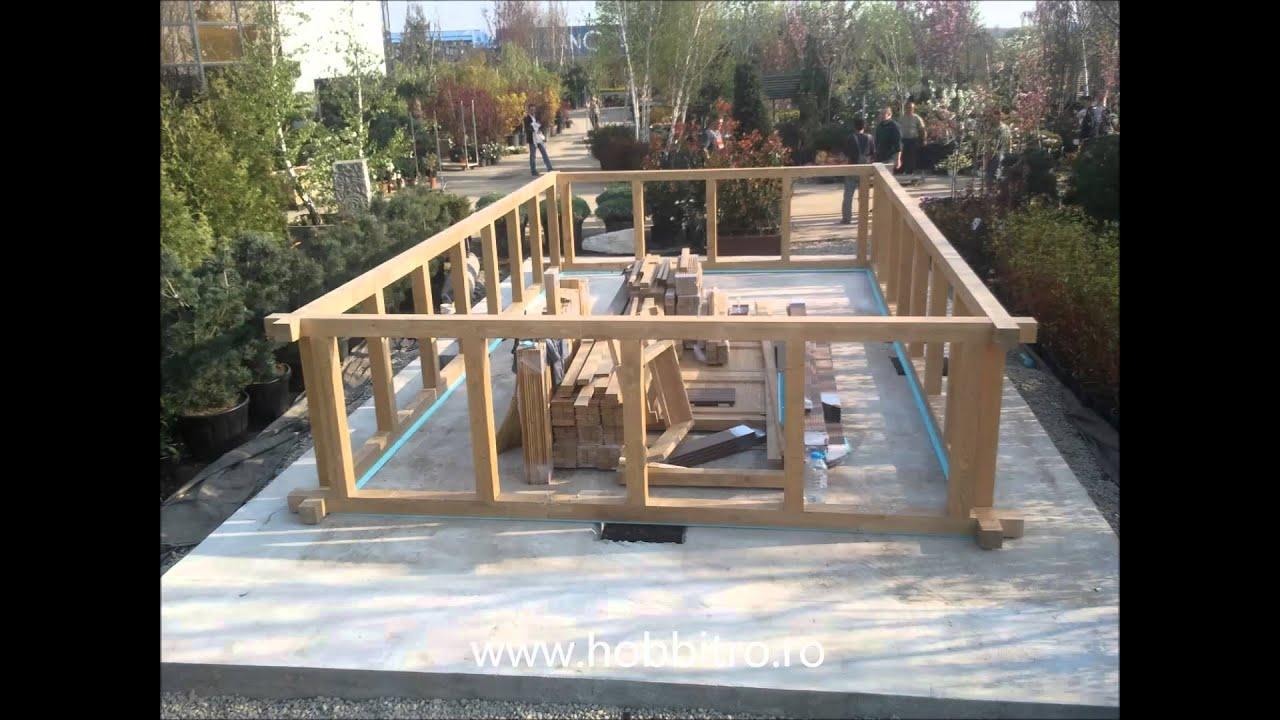 constructia unei piscine din lemn hobbit concept ro
