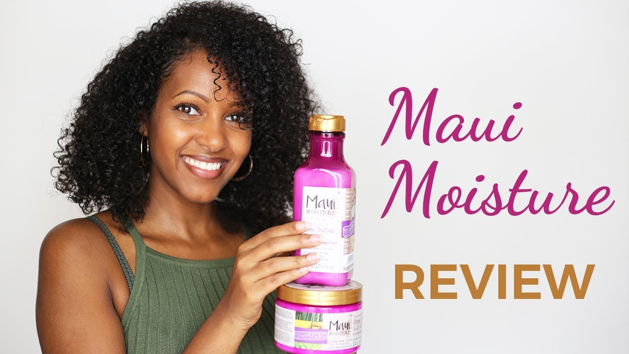 Maui Moisture Review Haarprodukte Für Locken Im Dm Youtube