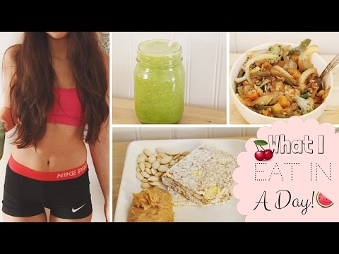 What I Eat In A Day//Vegetarian