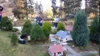 Чехия  Курорт Марианские Лазни  Железная дорога в парке на Крконошах(, 2013-11-16T17:37:46.000Z)