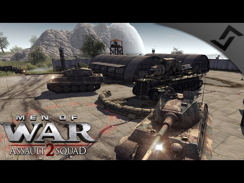 Tiger 2's & Karl Mortars - Men of War: Assault Squad 2 - Origins DLC USSR Campaign #7