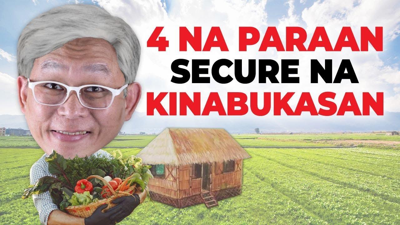 Download 4 NA PARAAN UPANG MAI-SECURE MO ANG IYONG KINABUKASAN   Chinkee Tan