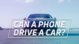 Watch A Smartphone Drive A Car (Kind Of)