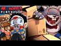 OHMWRECKER'S EVIL BUNNY SCARES ME!!! - MR HOPP'S PLAYHOUSE! 😨 Pixel Horror Game