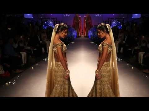Lisa Haydon   Bridal Wear   Tarun Thaliani   BMW India Bridal Fashion Week
