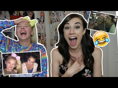 REACTING TO THE FIRST TIME I MET COLLEEN! **HILARIOUS**- WITH COLLEEN!