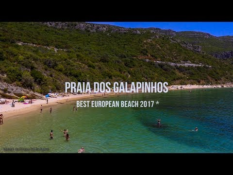 Praia dos Galapinhos, Setubal (European Best Beach 2017)