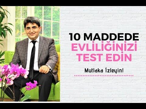 10 MADDEDE EVLİLİĞİNİZİ TEST EDİN | Canten Kaya