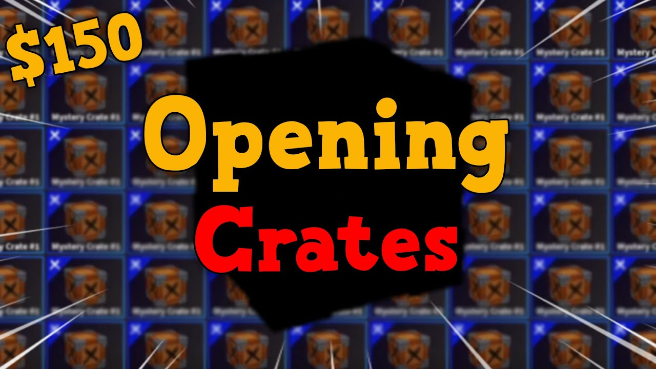 Download Opening $150 Worth Of Mystery Crates In KAT Roblox