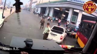 Rumbo a Incendio Declarado Valparaíso 14