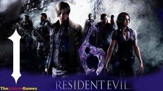 Прохождение Resident Evil 6: Леон - Часть 1 (Господин президент)