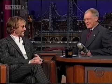 Warren Zevon's last Letterman Appearance part 1