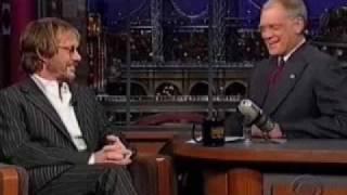 Warren Zevon's last Letterman Appearance part 1