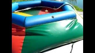 видео Каркасный, пластиковый или надувной бассейн для вашей дачи