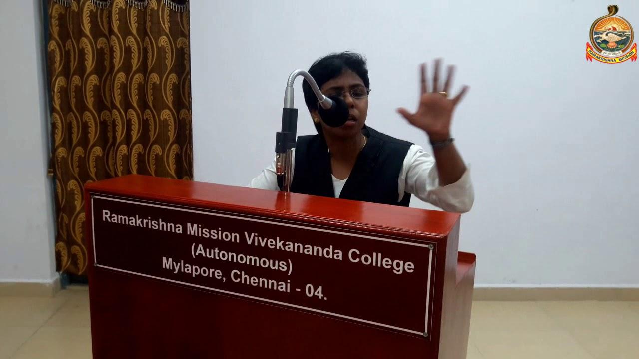 Multi language speeches by various college students on Swamijis Chigaco Speech