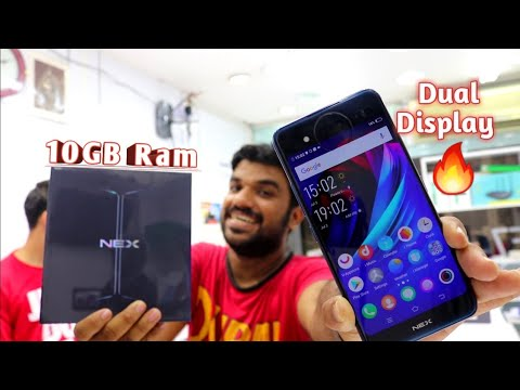 Hindi | Vivo Nex Dual Display Unboxing 10GB Ram.. 🤫 Back Side Mein Bhi Display 🤩