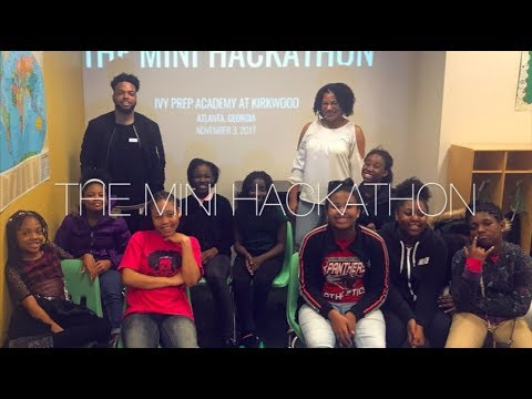 Joye to the World Mini Hackathon at Ivy Preparatory Academy at Kirkwood