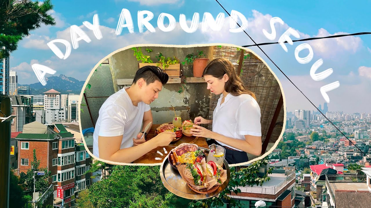Download SEOUL LIFE | Rooftop Brunch + Spectacular View 🍳Traditional Korean Village, Myeongdong = Ghost Town