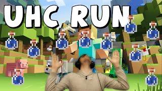 UHC RUN | Pluie de potions !