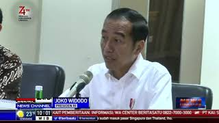 Jokowi Tegur Kinerja PLN yang Lambat Memulihkan Mati Listrik