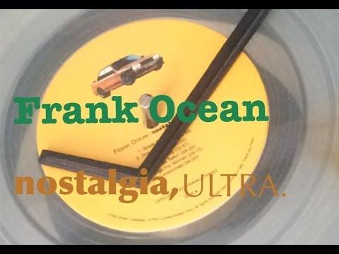 FRANK OCEAN - Nostalgia, Ultra. Clear Vinyl