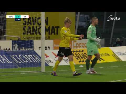 KuPS HIFK Helsinki Goals And Highlights