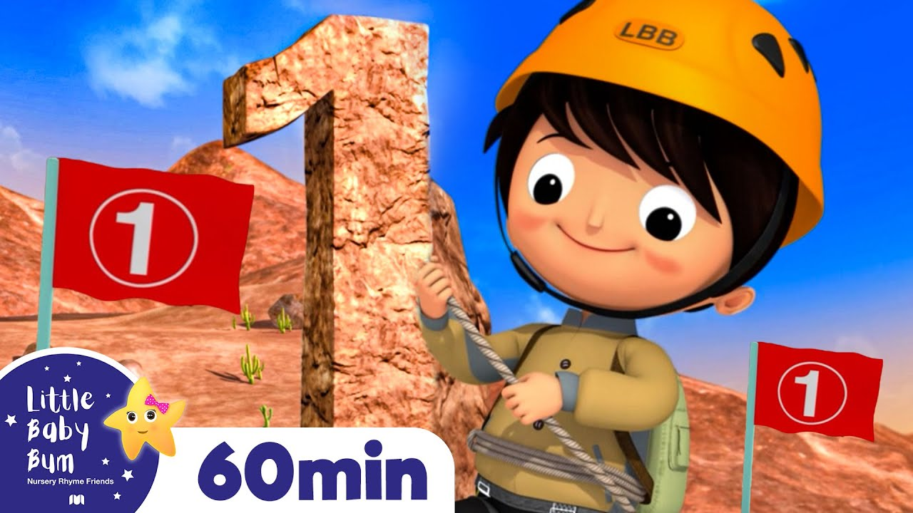 Number 1 Song - Learning Numbers | +More Nursery Rhymes | ABCs and 123s | Little Baby Bum