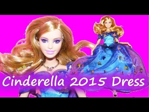 How To Make Cinderella 2015 Inspired Dress Tutorial DIY