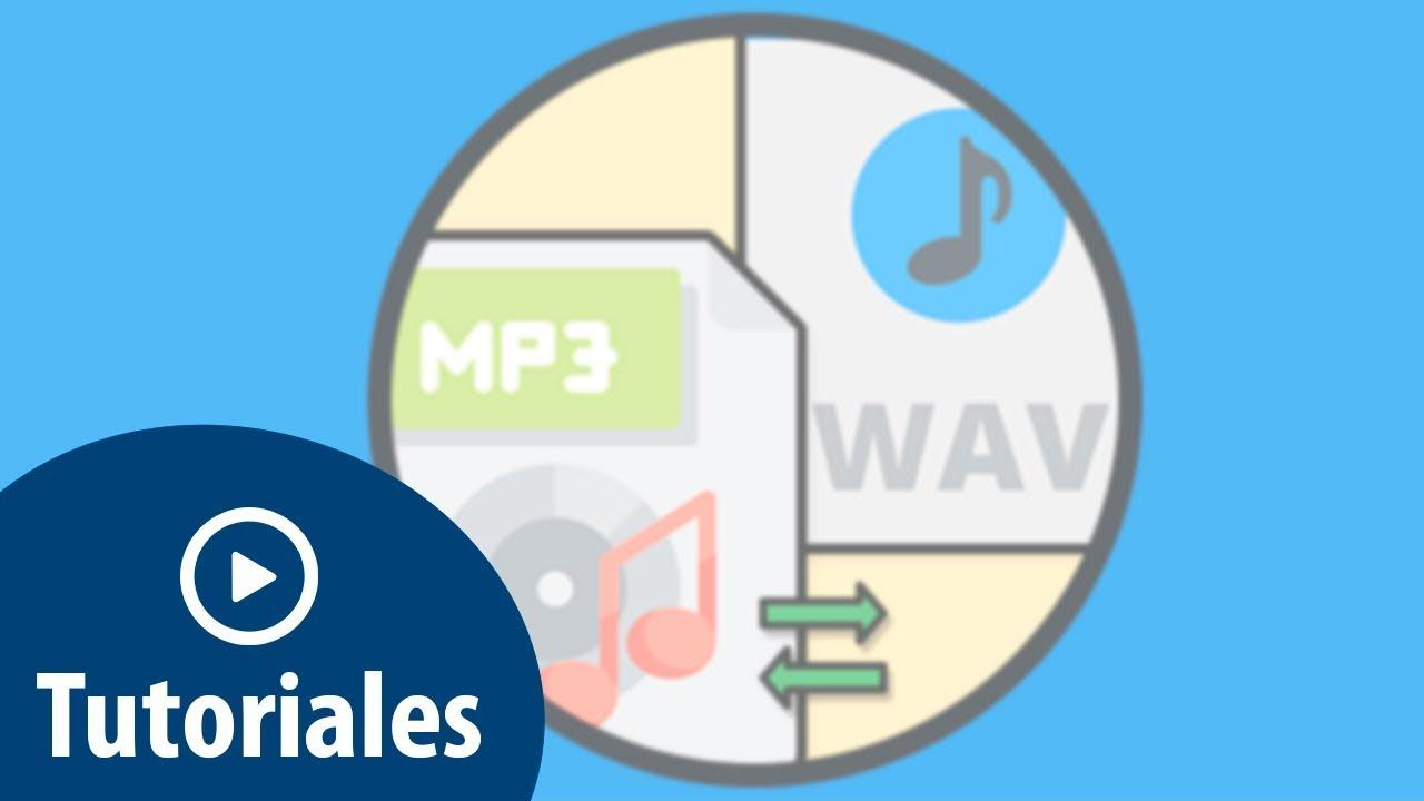 Cómo convertir archivo WAV a MP3 en VLC - YouTube