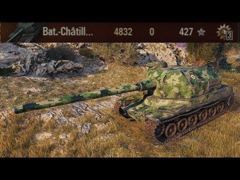 Bat Chatillon 155 58 | World of Tanks gameplay