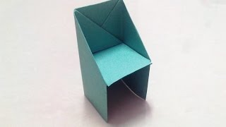 How to make an origami chair step by step.(Learn how to make an origami paper chair step by step. If you LIKED the video, don't forget to SUBSCRIBE at : http://www.youtube.com/BeingAKidAgain Credits ..., 2014-09-26T16:49:50.000Z)