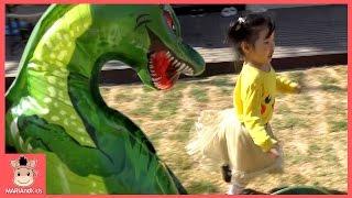 뽀로로 친구들 꾸러기 유니 공룡 상어가족 풍선놀이 ♡ 피카츄 로보카 폴리 어린이 놀이 색깔놀이 learn colors kids toys | 말이야와아이들 MariAndKids