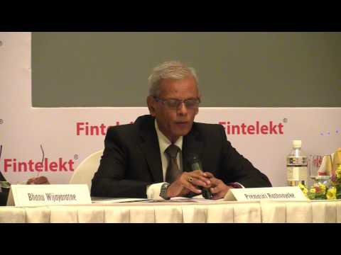 Premasiri Rathnayake, Cargills Bank at Fintelekt AML Summit 2016, Colombo, Sri Lanka