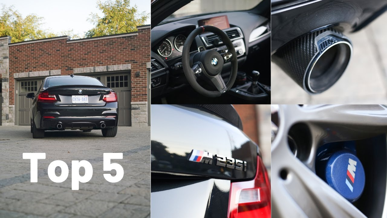 Top 5 things I love about my 2015 BMW M235i