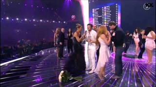 HD: ESC 2011 WINNER PRIZE AWARD - AZERBAIJAN - ELL & NIKKI - RUNNING SCARED(WINNER OF THE 56TH EUROVISION SONG CONTEST 2011: AZERBAIJAN - ELL & NIKKI - RUNNING SCARED! AZERBAYCAN!!!!!!!!!! HAT SICH FÜR DIE ..., 2011-05-15T10:24:42.000Z)
