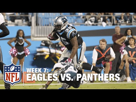 Mike Tolbert Breaks How Many Tackles On this TD Run? | Eagles vs. Panthers | NFL