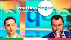 MATTEO SALVINI A MATTINO CINQUE (CANALE 5, 01.05.2020)