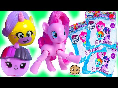 My Little Pony + Unicorn Candy Surprise Blind Bags ! Mystery Candy Toy Video
