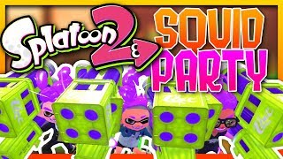 SPLATOON 2 - THE SQUID PARTY TRAILER (Funny Moments)