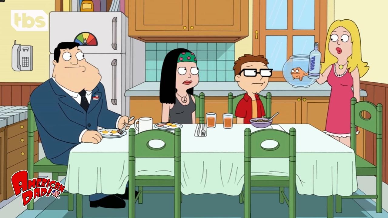 American Dad: Sexy Aunt Visit (Season 10 Episode 8 Clip) | TBS