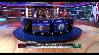 LeBron James Dominance In 2018 Playoffs | NBA GameTime | May 27, 2018