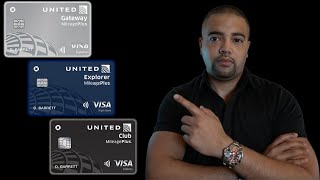 Chase United Airlines Infinite, Explorer, & Gateway Credit Cards