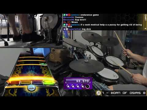 Bow Down (2x Bass Pedal) By Born Of Osiris - Pro Drum FC