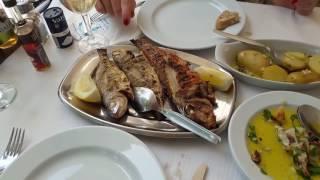 Экскурсии в Португалии. Обед в городе Сетубал