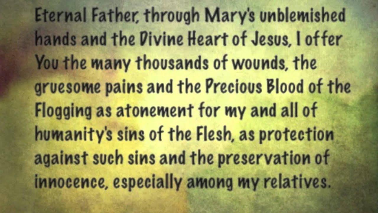 St Bridget's 12 Year Prayer