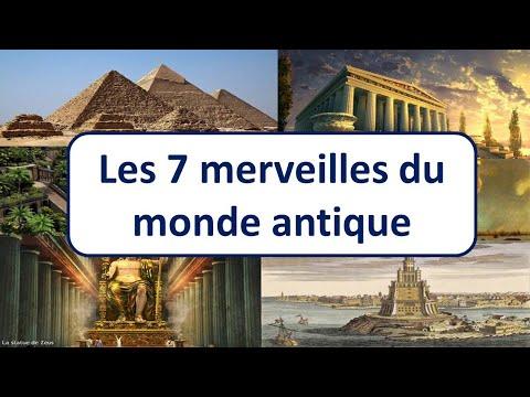MP06 les 7 merveilles du monde antique