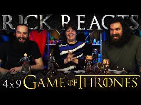 "RICK REACTS: Game of Thrones 4x9 ""The Watchers on the Wall"""