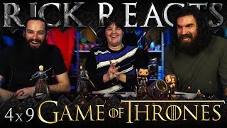 RICK REACTS: Game of Thrones 4x9