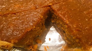 🍠 BEST EVER EASY DEEP DISH SWEET POTATO PIE | Cooking w/ Ashley