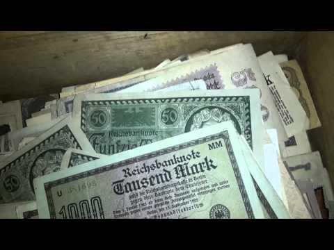 German Paper money from the ww1 ww2